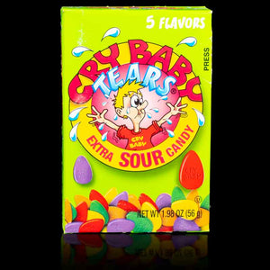 Cry Baby Tears Sour Candy 5 Flavour 56g
