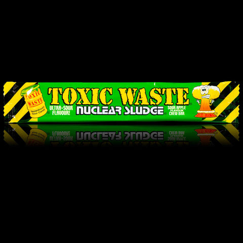 Toxic Waste Nuclear Sludge Sour Apple Chew Bars