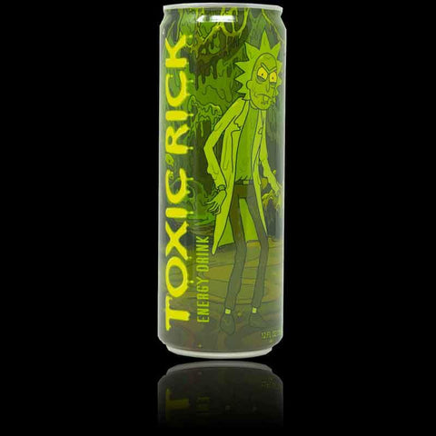 Rick and Morty Toxic Rick Energy Drink