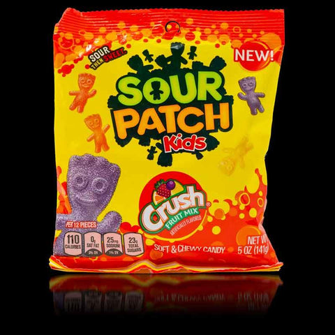 Sour Patch Kids Crush Peg Bag 141g