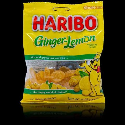 Haribo Ginger Lemon 4oz