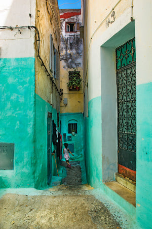 Alleyways in Morocco