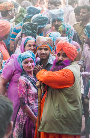 The festival of colors at its best