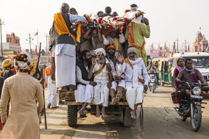Countless pilgrims come to celebrate Kumbh Mela