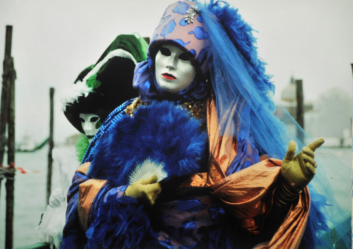 Carnival of masks in Venice