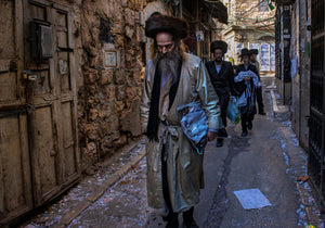 Hassidim in Meah Shearim