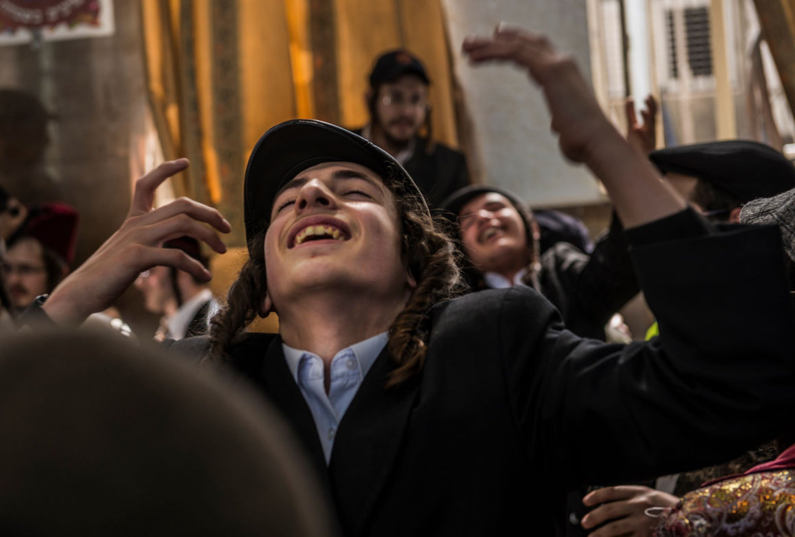 'Tish' celebration during Purim holiday