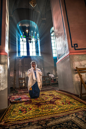Ethiopian church in Jerusalem