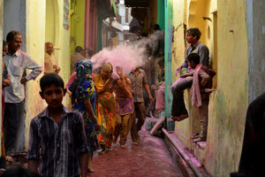 Holi festival a celebration of colors
