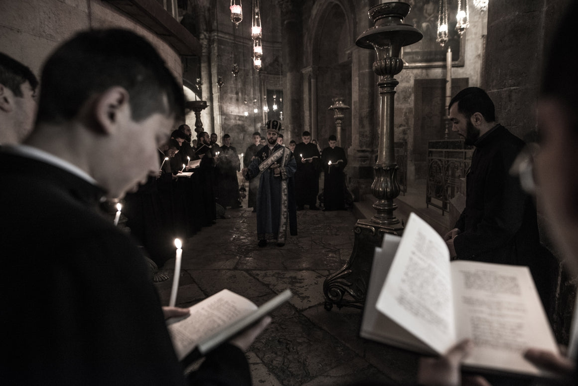 The Armenian order at the church of holy sepulcher