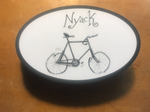 Hopper's Nyack Bike Car Magnet