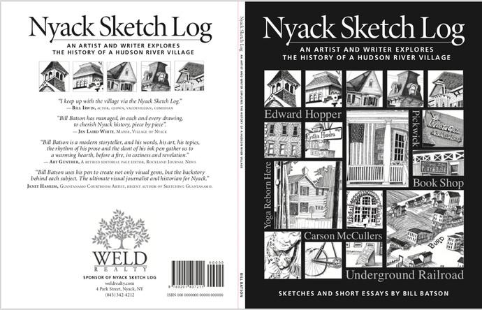 Nyack Sketch Log: Volume 1