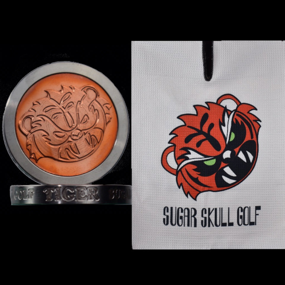 Angry Tiger GSS Ballmarker and Towel!