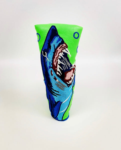 SSG Shark Week Lime Putter Cover - Blade