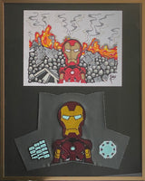 "SSG Iron Man Special Cover and Drawing 16"" X 20"""