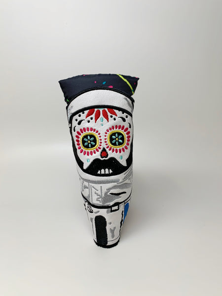 Sugar Skull Golf Astronaut Blade Putter Headcover