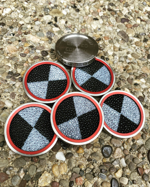 GSS Checkered Stingray- Ball Marker