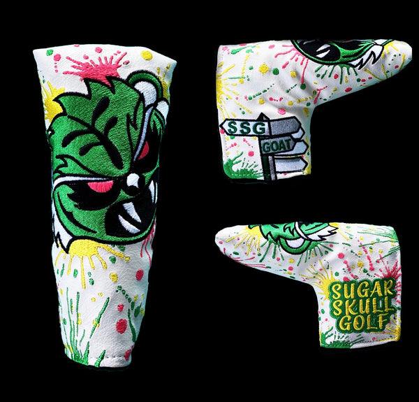 SSG 2021 Masters Angry Tiger Putter Cover - Blade