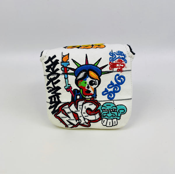 SSG US Open Graffiti Putter Cover - Mallet