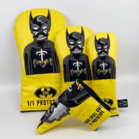 Batman Yellow Prototype 1/1 Wood Set & Putter