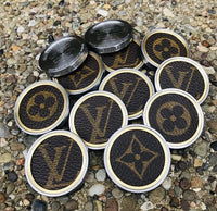 GSS LV Brown Material & Brass Insert- Heavy Duty Ball Marker
