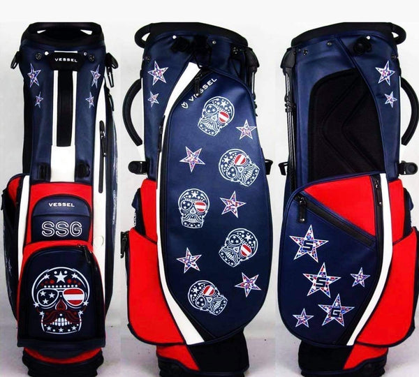 Sugar Skull Golf Vessel Player 2.0 USA Stand Bag