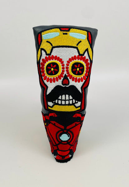 SSG Iron Man Skull Putter Cover - Blade