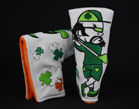 St. Patrick's Day Blade Style Putter Cover - White *Limited Release*
