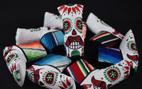Cinco de Mayo Serape Sugar Skull Putter Cover *Limited Release*