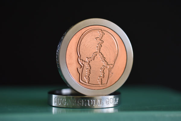 "GSS / Copper ""Back of Skull"" Heavy Duty Ball Marker - Limited Release"