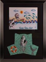 "Shark Week Headcover and Drawing 24"" X 18"""