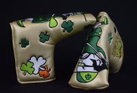 St. Patrick's Day Blade Style Putter Cover - Gold