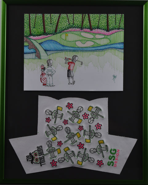 "Masters Headcover and Drawing 16"" X 20"""