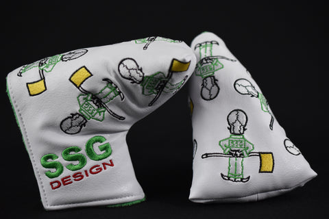 Dancing Caddy Skull Mid Mallet Putter Cover *Masters Limited Release*