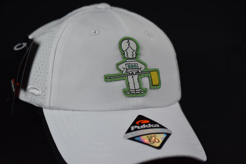 Masters Caddy Skull Adjustable Hat - White