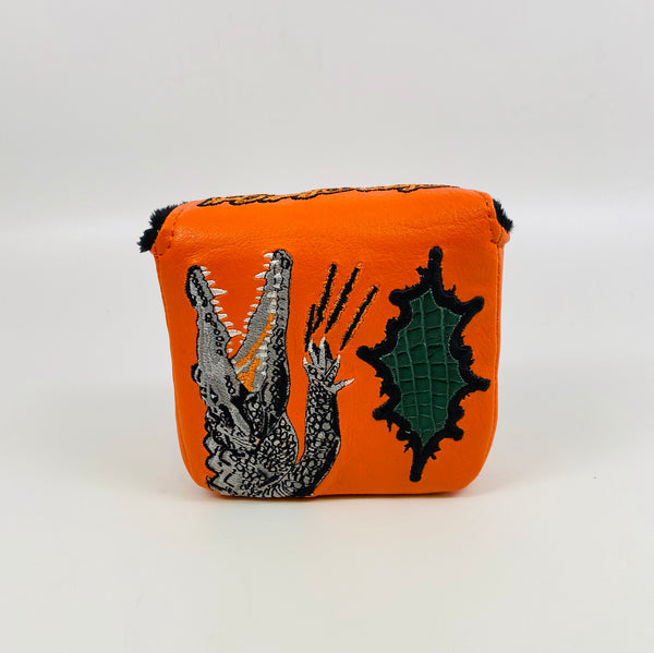 SSG Orange Gator Putter Cover - Mallet