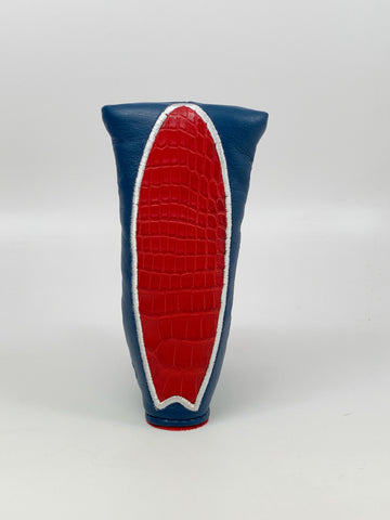 U.S. Open Genuine Leather / Alligator Large Surfboard Blade Putter Cover - *Limited Release*