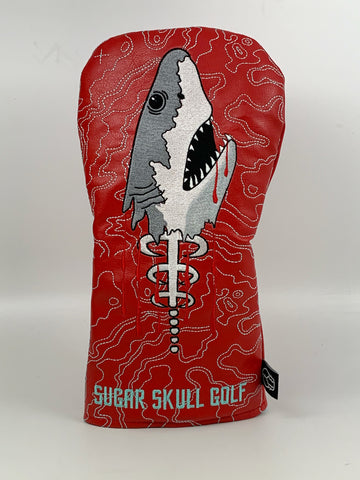 *Pre-Order* Shark Week Red Driver Wood Headcover *NEW STYLE*