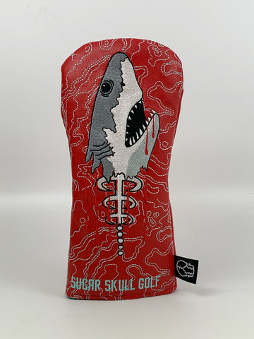 *Pre-Order* Shark Week Red Fairway Wood Headcover *NEW STYLE*