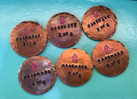 Copper Ballmarker (1/6) Handstamped