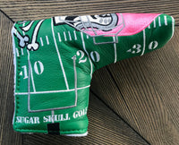 1/1 Prototype Genuine Leather Football Headcover Auction to Benefit Breast Cancer