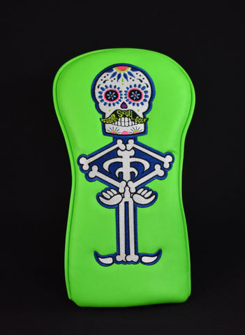 Sugar Skull Golf *Limited Release* Driver - Lime Green