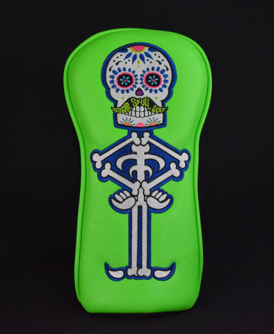 Sugar Skull Golf *Limited Release* Fairway - Lime Green