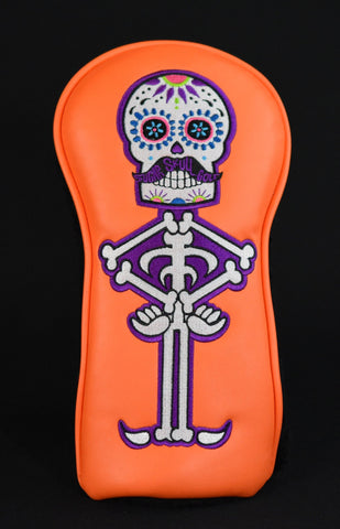 Sugar Skull Golf *Limited Release* Fairway - Orange