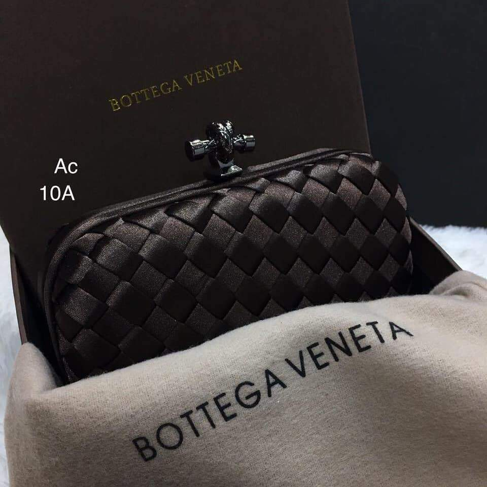 Bottega Veneta Coffee Colour Small Clutch First Copy