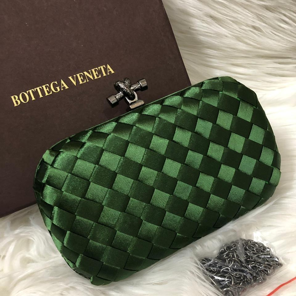 Bottega Veneta Green Colour Small Clutch First Copy