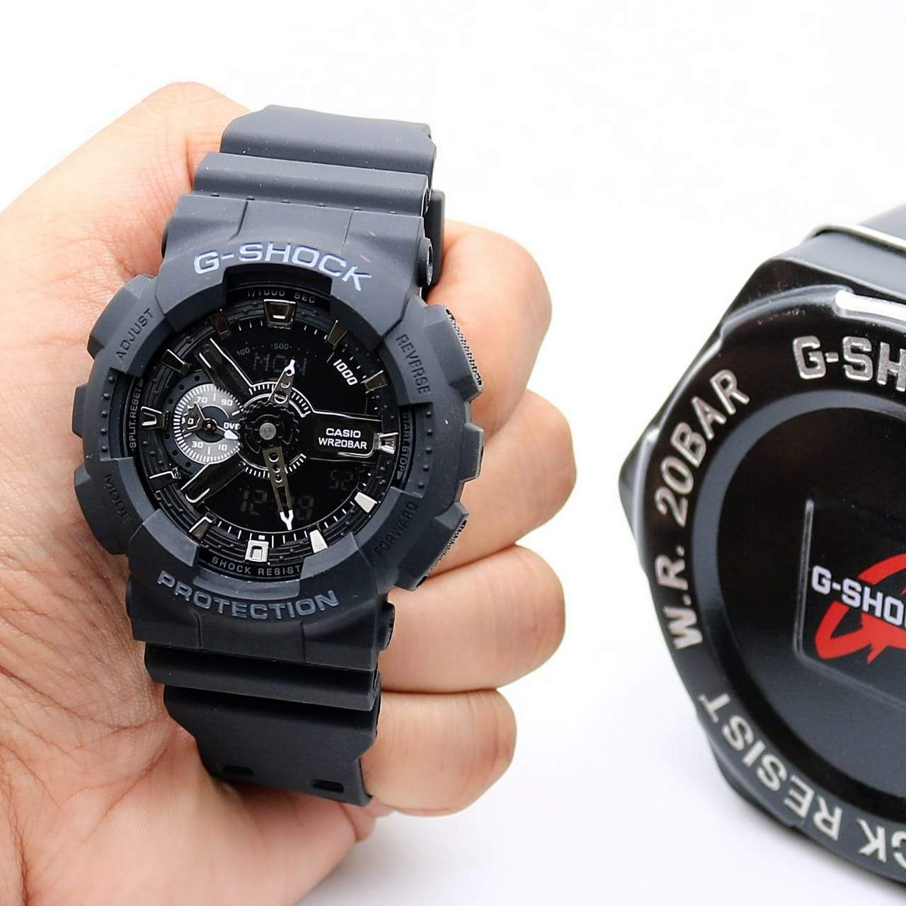 Casio G-shock GA-110-1BDR Black Men's Watch 1st copy 01.G01.078