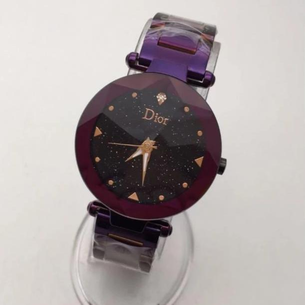 Dior Purple Ceramic Women's Watch 1st copy 02.05.DI004