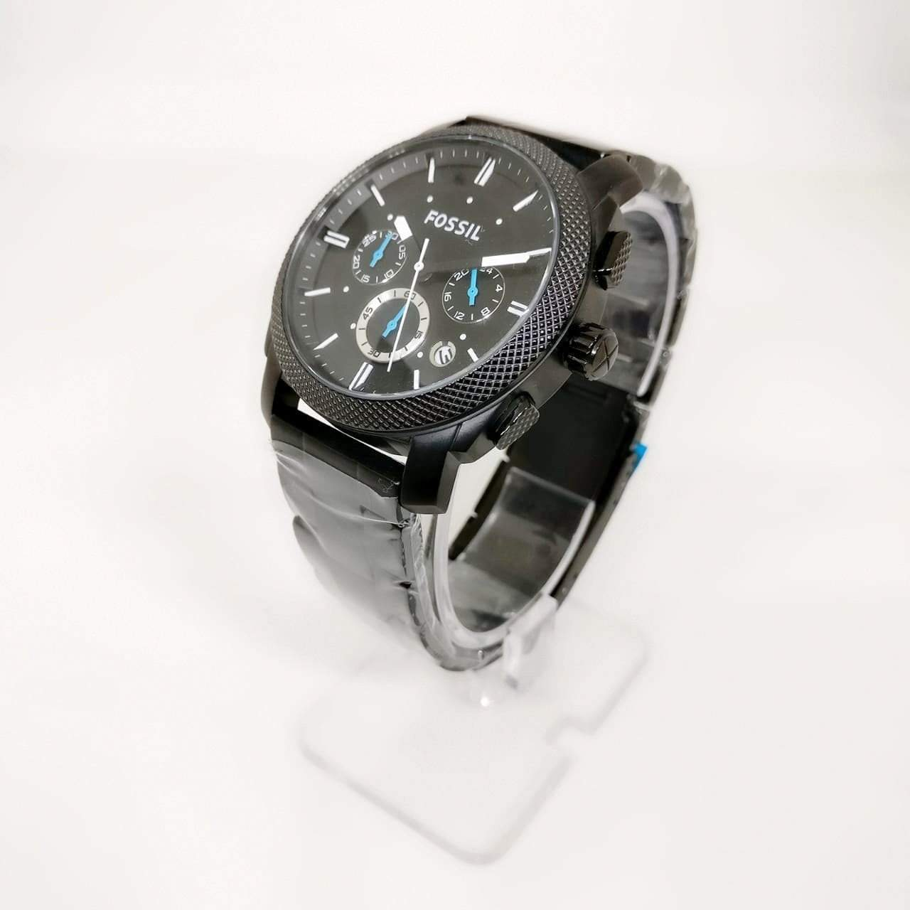 Fossil Machine Analog Black  Men's Watch 1st copy