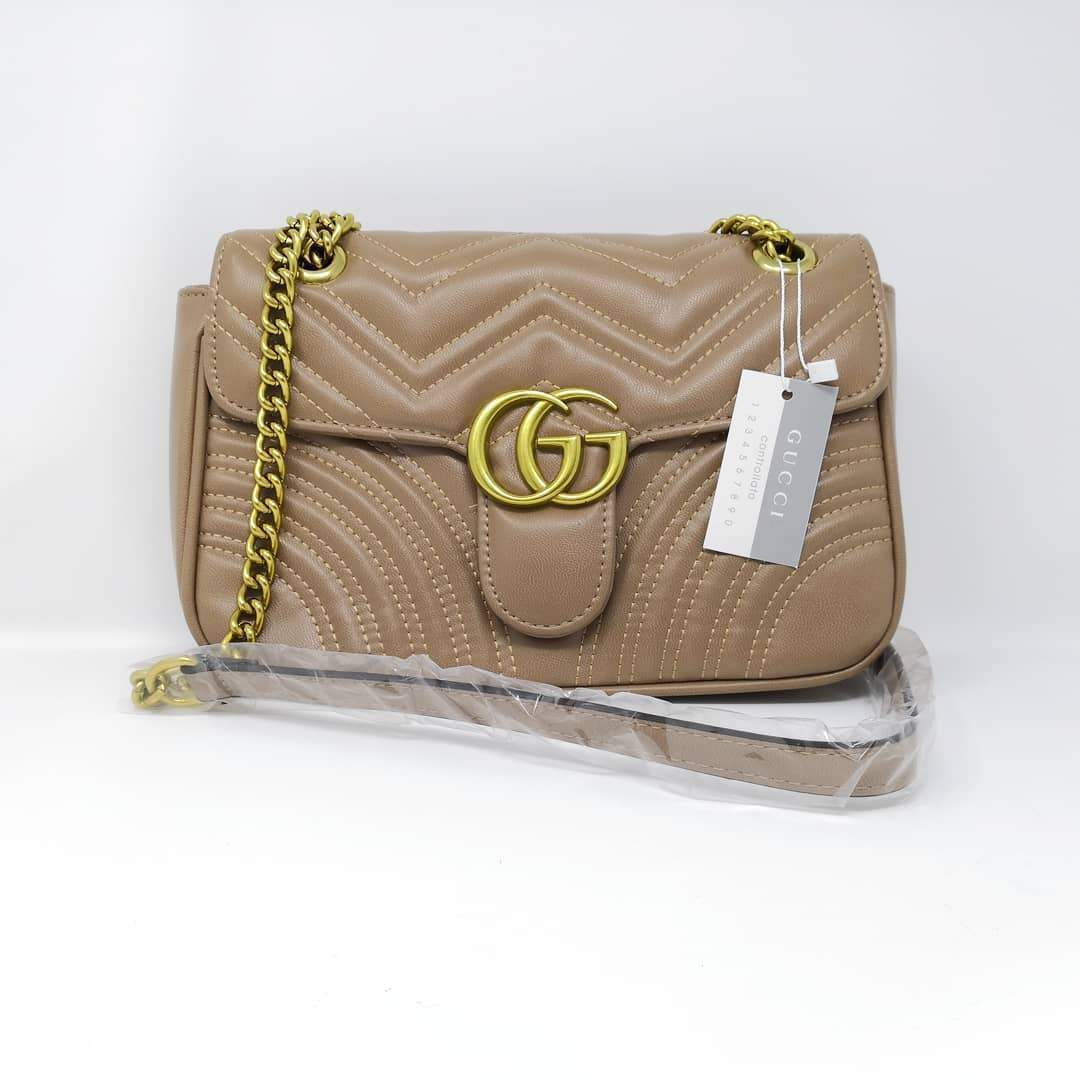 Gucci Beige Colour Sling Bag 1st copy 1732.Khaki